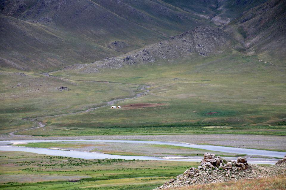 Lacs Altai Mongolie