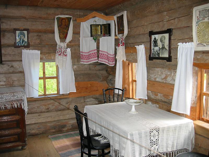 Musee taltsy, dans une maison - Combiné Mongolie - Russie