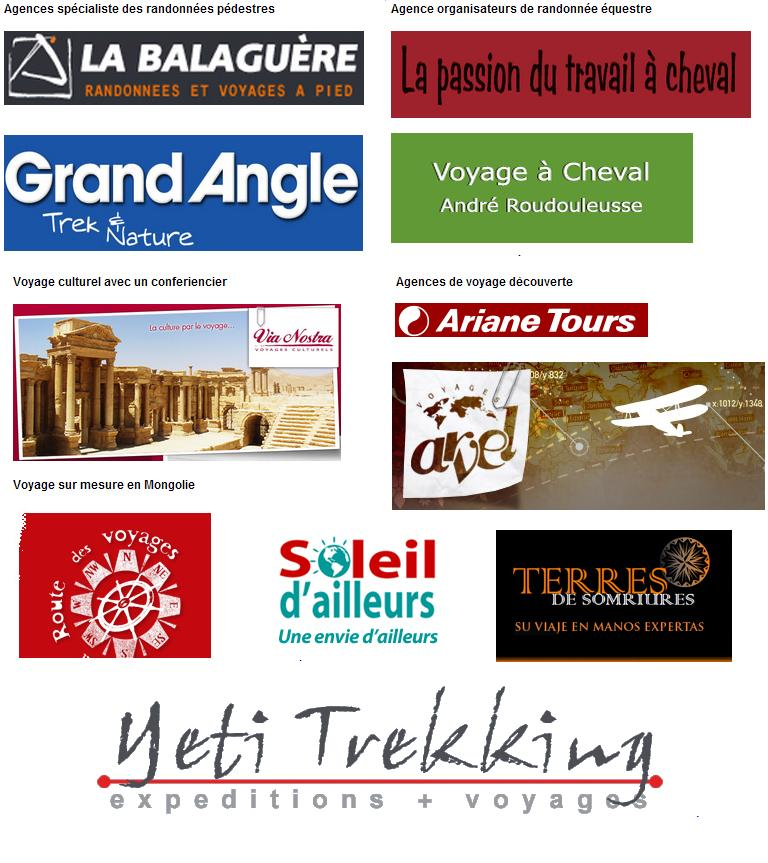 Partenaires agences de voyage Orso Voyage
