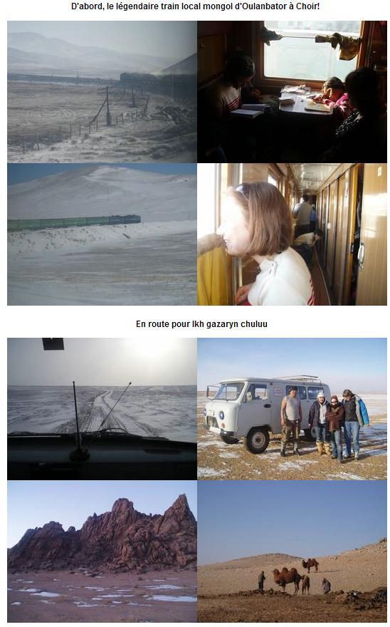 Voyage hivernal 2009