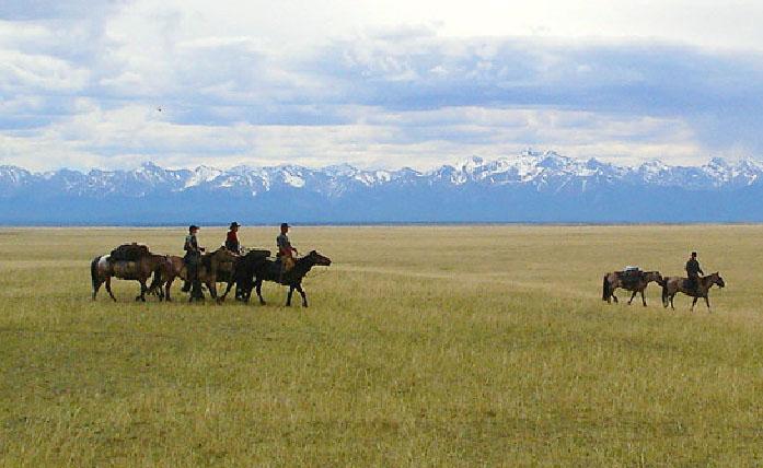 Voyage equestre