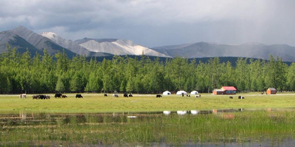 Arkhangay, steppes et nomades de la Mongolie
