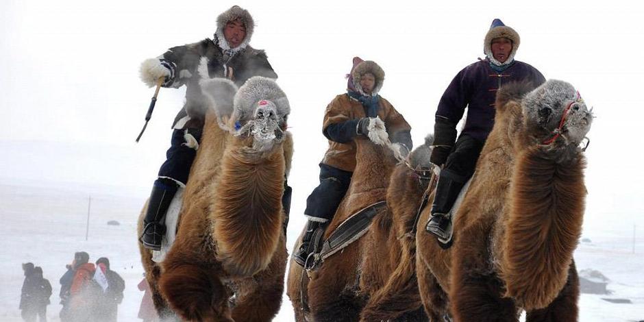 La Mongolie en hiver