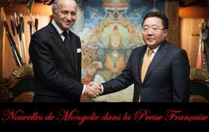 Nouvelles de Mongolie