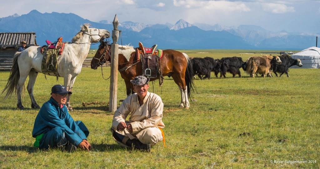 Nomades mongols