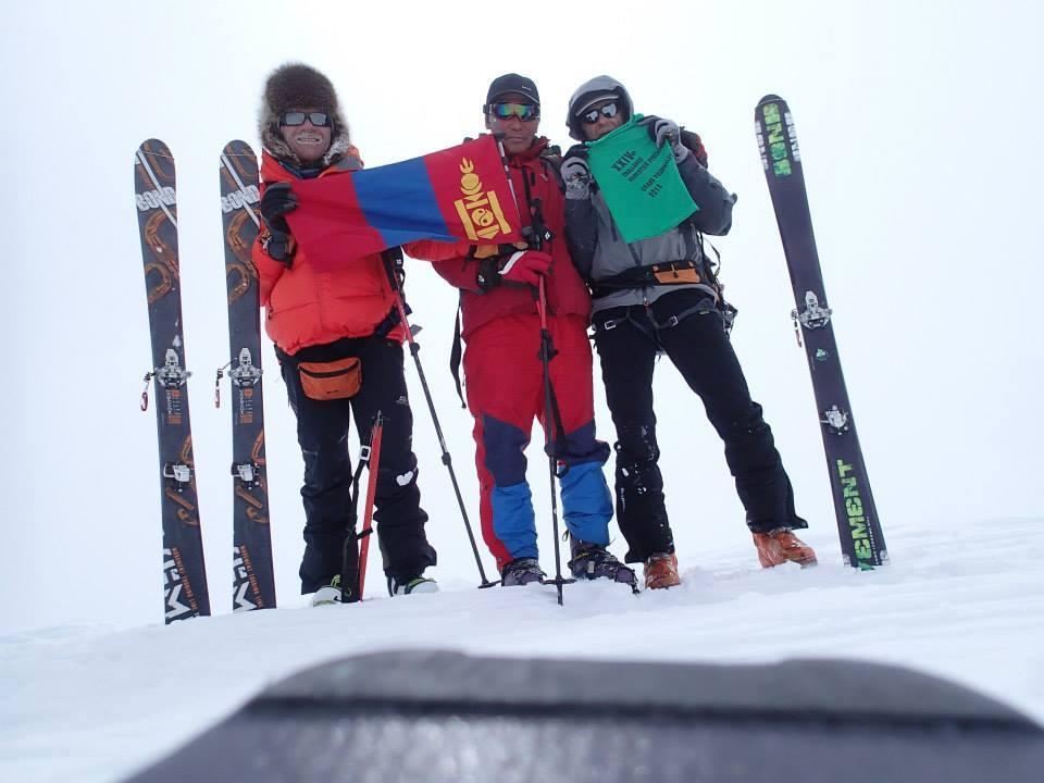 ski en Mongolie