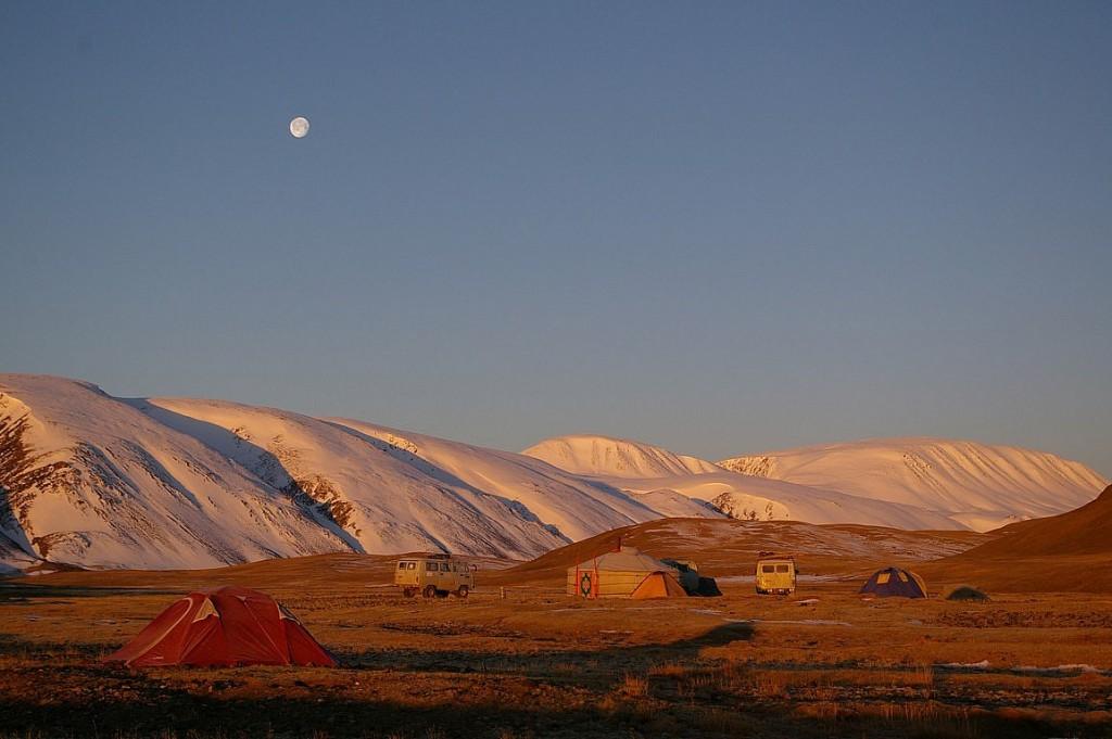 skier dans Altai